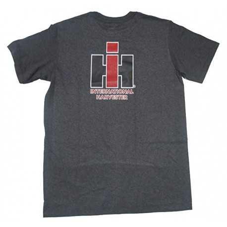 T-shirt Case IH Gris Anthracite