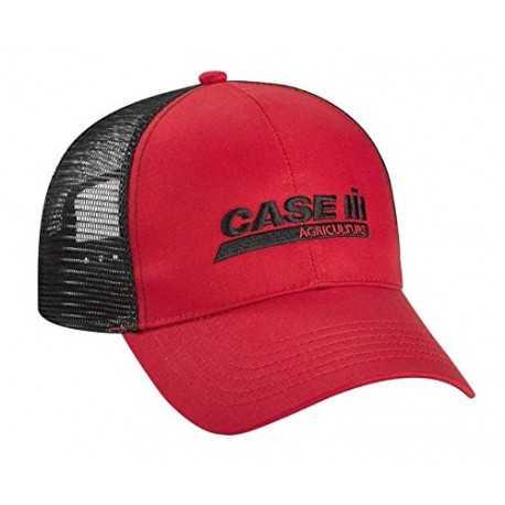 Casquette Case IH Noire et rouge
