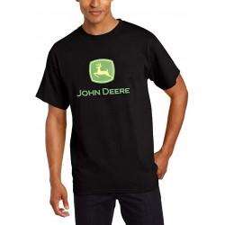 T-shirt John Deere noir homme