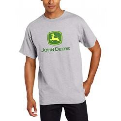 T-shirt John Deere gris homme
