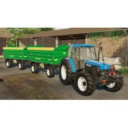 Tracteurs New Holland série 40 Mods FS19