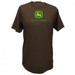 T-shirt John Deere marron Homme