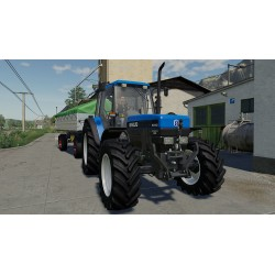 Tracteur New holland 8340 mods FS19
