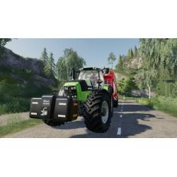 Tracteur Deutz Fahr Series 7 FS19