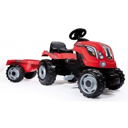 Tracteur à pédales SMOBY FARMER XL