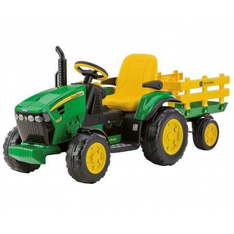 Tracteur électrique enfant John Deere