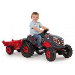 Tracteur à pédales enfants SMOBY Stronger XXL