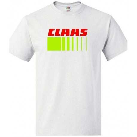 T-shirt CLAAS Blanc