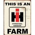 Plaques émaillées CASE IH Agriculture
