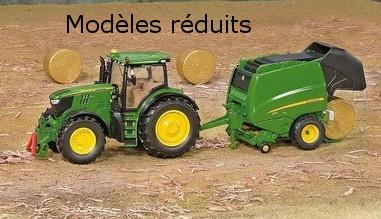 Modeles réduits matériel agricole