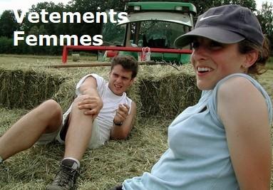 Vêtements agriculture pour femme